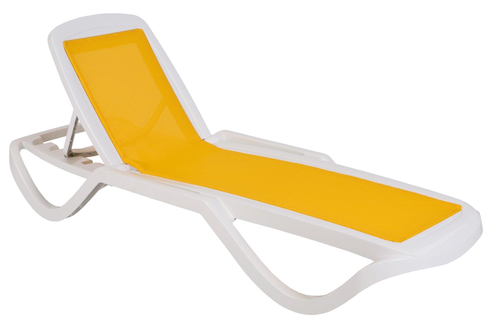 Hamaca tumbona piscina y playa mod bahia textilene 71 x for Tumbona playa decathlon